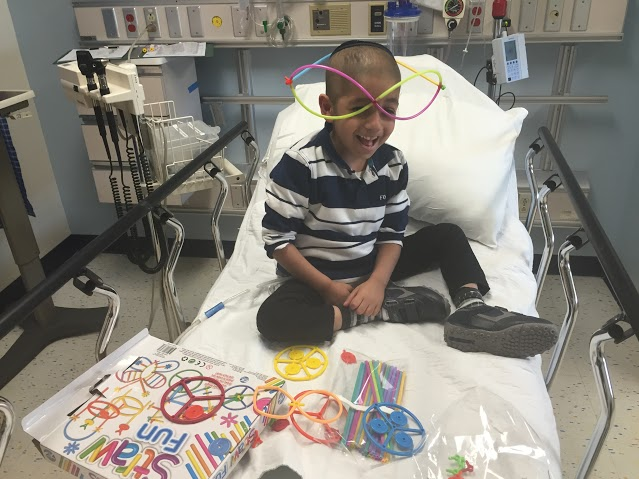 Raphael Shmuel 5 years old cancer patient