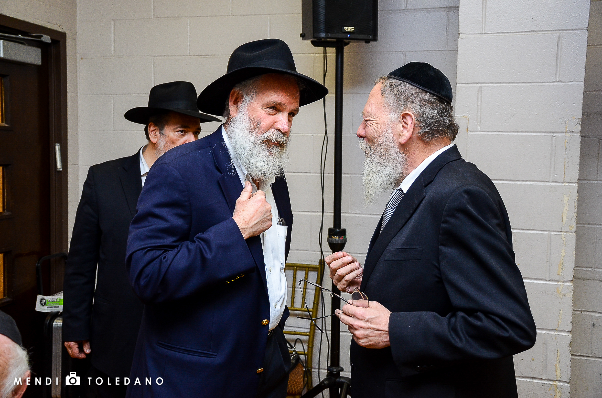 Dr. Eli Rosen with Rabbi Avraham Lider