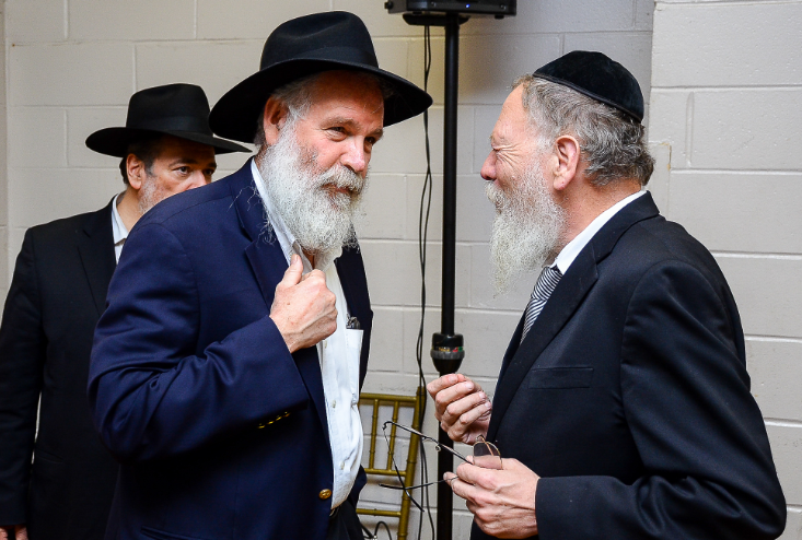 Working closely with Ahavas Chesed during the years